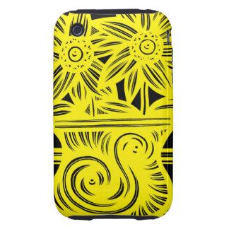Calm Adventurous Thrilling Gorgeous iPhone 3 Tough Case
