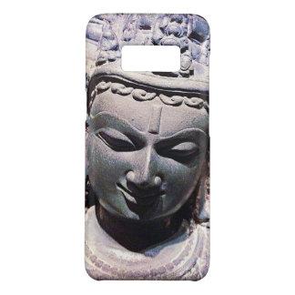 Calm, Asian Stone Face Statue Head Close-up Photo Case-Mate Samsung Galaxy S8 Case