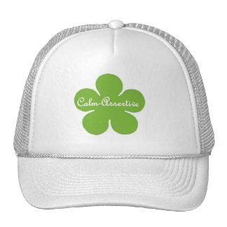 Calm Assertive Flower Hat