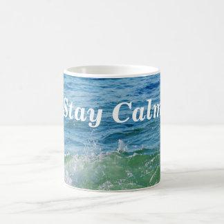 Calm_ Basic White Mug