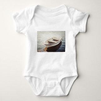 Calm Boat, Water, Sailing (Square) ReasonerStore Baby Bodysuit