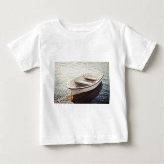 Calm Boat, Water, Sailing (Square) ReasonerStore Baby T-Shirt