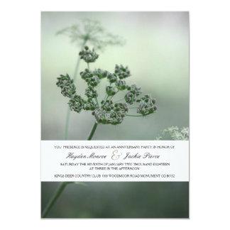Calm Botanicals   Anniversary Party Invitation