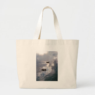 Calm Ducks Before the Storm Tote Bag
