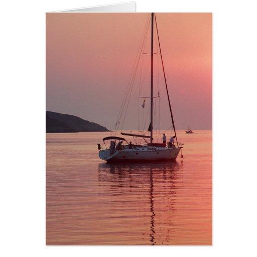 Calm evening Card