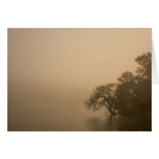 Calm Fog - Missing You Card