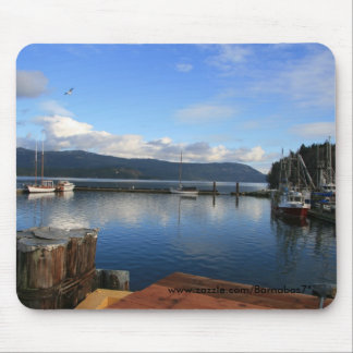 Calm Habour Mouse Pad