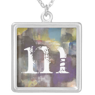 Calm Interlude Silver Plated Necklace