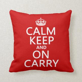 Calm Keep and On Carry - all colours Cushion