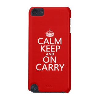 Calm Keep and On Carry - all colours iPod Touch (5th Generation) Case