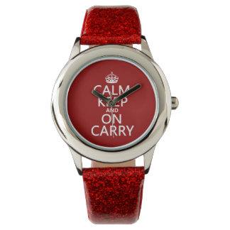Calm Keep and On Carry - all colours Watch