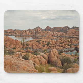 Calm lake mouse mat