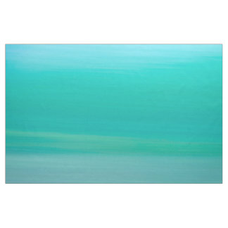 Calm ocean green blue ocean waves fabric
