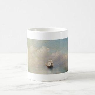 Calm Seas Ivan Aivazovsky seascape waterscape sea Basic White Mug