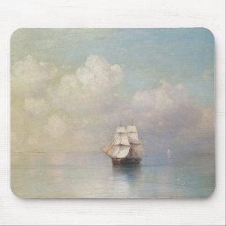 Calm Seas Ivan Aivazovsky seascape waterscape sea Mouse Pad