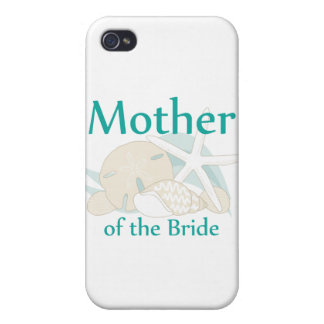 Calm Seashells Mother of the Bride Covers For iPhone 4