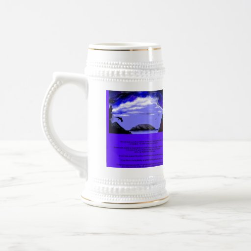 """""""Calm The Storm Within"""" Stein.* Mug"""