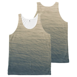Calm Water At Twilight All-Over Print Tank Top