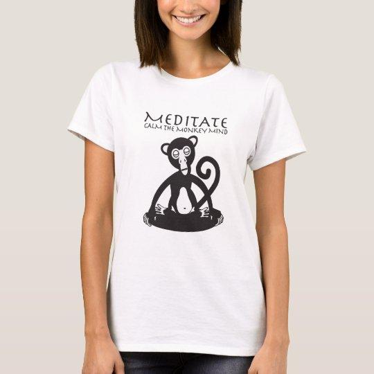 Calm your monkey mind T-Shirt