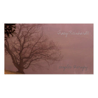 Calming mood business card