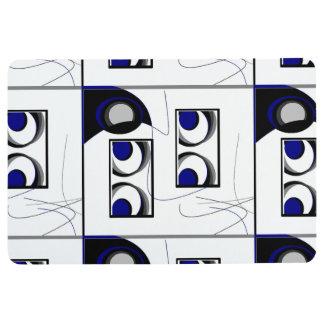 Calmness & Sophistication Floor Mat