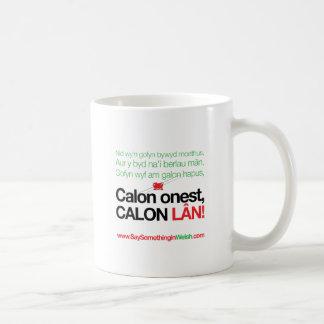 Calon Lan Basic White Mug