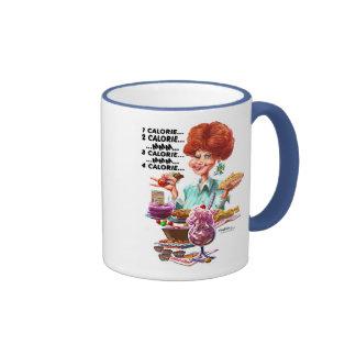 Calorie Counter cup Ringer Mug