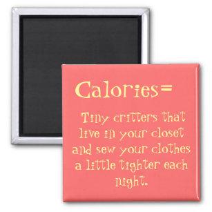Calories Fridge Magnet