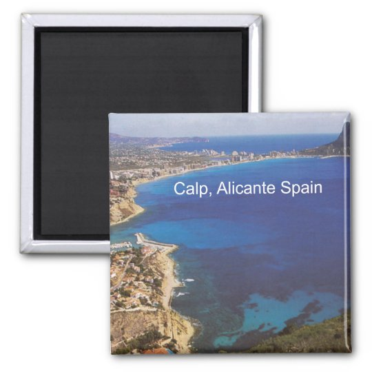 Calp Calpe Alicante Spain Photo Fridge Magnet