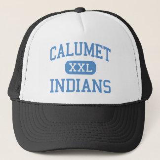Calumet - Indians - High School - Chicago Illinois Trucker Hat