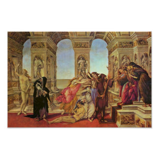 Calumny Of Apelles By Botticelli Sandro Posters
