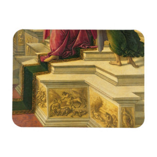 Calumny of Apelles: detail showing part of the pod Rectangular Photo Magnet