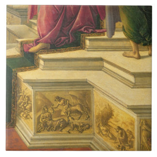 Calumny of Apelles: detail showing part of the pod Tile