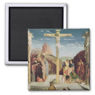 Calvary, after a painting by Andrea Mantegna Magnet