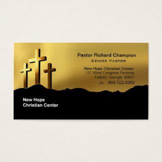 Calvary Crosses Christian Symbol Minister/Pastor