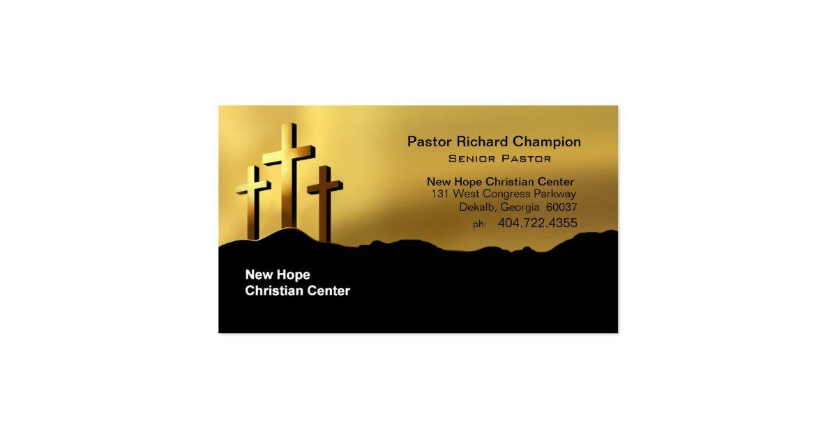 calvary crosses christian symbol minister pastor pack of
