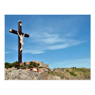 Calvary of Collioure in France Post Cards