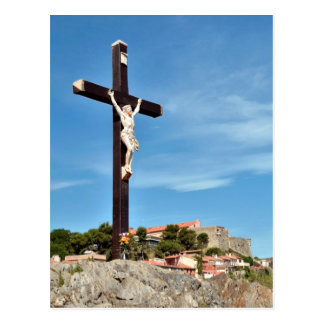 Calvary of Collioure in France Postcard