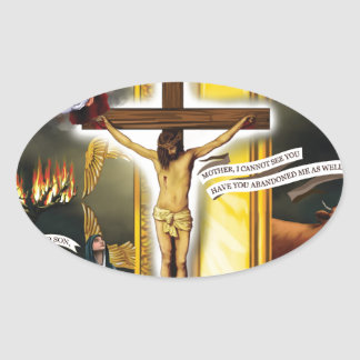 Calvary-Old-Testament-Typology - 12-20-2012 300 DP Oval Sticker