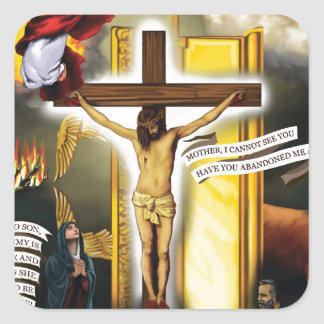 Calvary-Old-Testament-Typology - 12-20-2012 300 DP Square Sticker