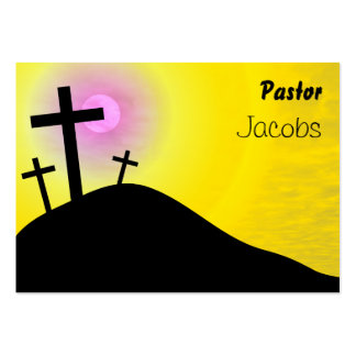 Calvary, Pastor, Jacobs Business Cards