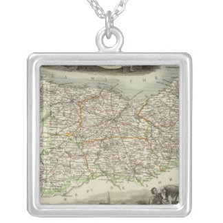 Calvary Silver Plated Necklace