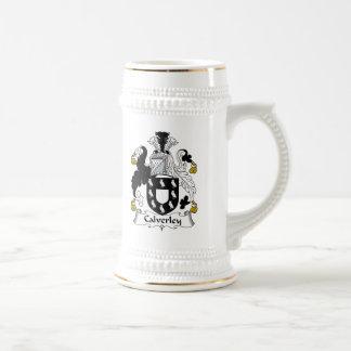 Calverley Family Crest Beer Stein