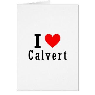 Calvert, Alabama City Design Greeting Card