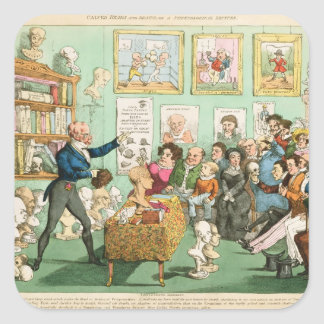 Calves' Heads and Brains; a Phrenological Stickers