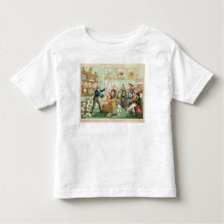 Calves' Heads and Brains; a Phrenological Toddler T-Shirt