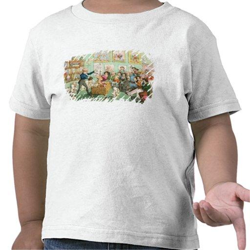 Calves' Heads and Brains; a Phrenological Tee Shirts