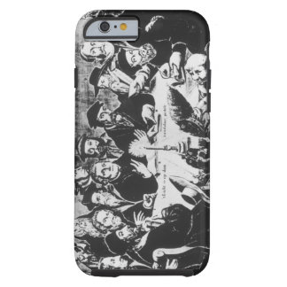 Calvin and Luther engraving iPhone 6 Case