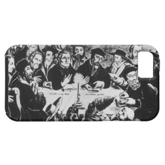Calvin and Luther (engraving) iPhone 5 Cases