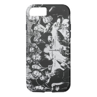 Calvin and Luther (engraving) iPhone 8/7 Case
